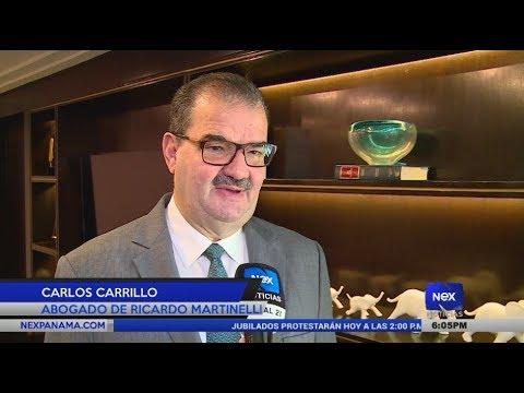 A espera que remitan el expediente de Ricardo Martinelli