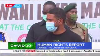 Haki Africa releases Report of Human rights violations during COVID-19 period