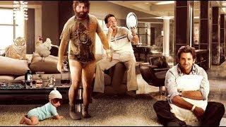 The Hangover Movies -  Zach Galifianakis, Bradley Cooper, Justin Bartha Movies HD