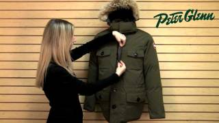 Canada Goose Banff Parka Review from Peter Glenn
