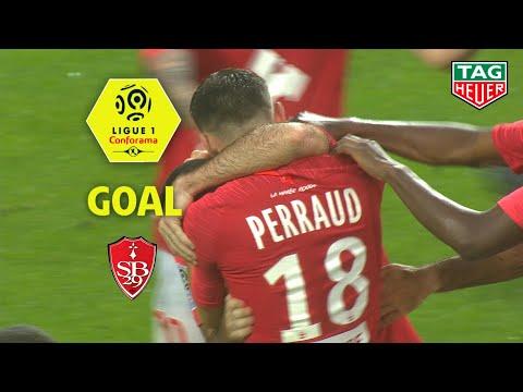 Goal Yoann COURT (29′) / Stade Brestois 29 – Olympique Lyonnais (2-2) (BREST-OL) / 2019-20