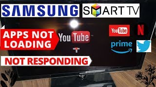 How to Fix Samsung Smart TV Apps Not Loading || Samsung TV Apps Not Working