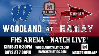 2019 Woodland vs  Ramay Boys Basketball