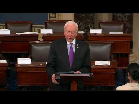 Hatch Speaks on the Need for Medical Marijuana Research to Potentially Save Lives