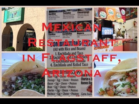 Video Los Altenos Restaurant, Mexican Restaurant in Flagstaff Arizona フラッグスタッフ市の安くて美味しいメキシコ料理レストラン