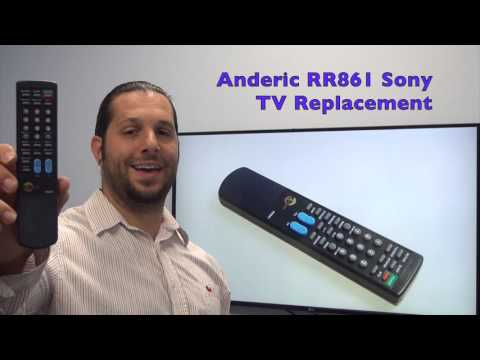 ANDERIC RR861 Sony TV Remote Control