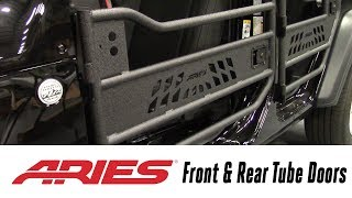 In the Garage™ with Total Truck Centers™: ARIES Front & Rear Tube Doors