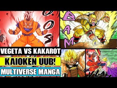 Dragon Ball Multiverse Chapter 46: Kaioken Uub Vs Majin Buu! SSJ Vegeta Vs Oozaru Kakarot!