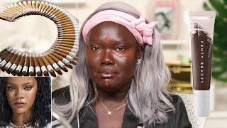 Sooo.. Fenty gave us dry skin girls a Hydrating Foundation || Nyma Tang