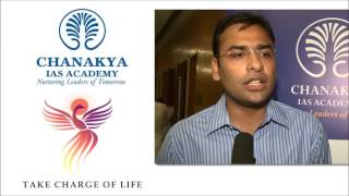 Chanakya's IAS Mock Interview Testimonials Suharsha Bhagat Rank-5 CSE 2014 Part-1