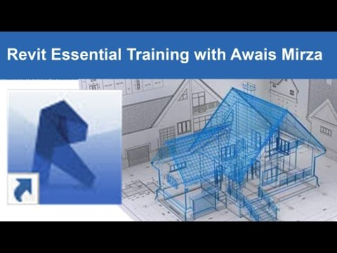 Revit tutorial Architectural Getting Started Tutorial 1 - YouTube