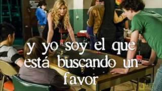 Aly Michalka -  Someone to fall back on (Bandslam) Español/Spanish