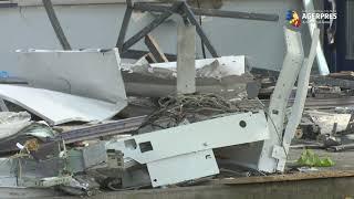 IPJ Ilfov: Două bancomate, sparte la parterul unui bloc din oraşul Otopeni