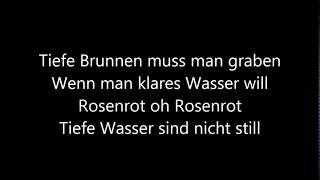 Rammtein  Rosenrot lyrics