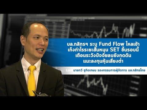 บล.กสิกรฯ ระบุ Fund Flow ไหลเข้าเก็งกำไรระยะสั้นหนุน SET ขึ้นรอบนี้