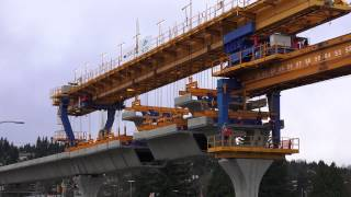 Evergreen Line Construction Pinetree Way December 11 2014 4k Video