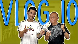 VLOG #10... WHITE BELT/ MIGHTY MITE CLASS MERGER.