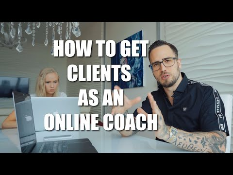 How To Get Clients As An Online Coach (WITHOUT using ads, WITHOUT a big brand!)