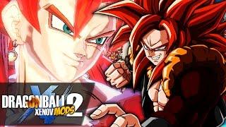 ENOUGH MONKEY BUSINESS!! SSJ4 Vegito VS SSJ4 Gogeta!! | Dragon Ball Xenoverse 2 MODS