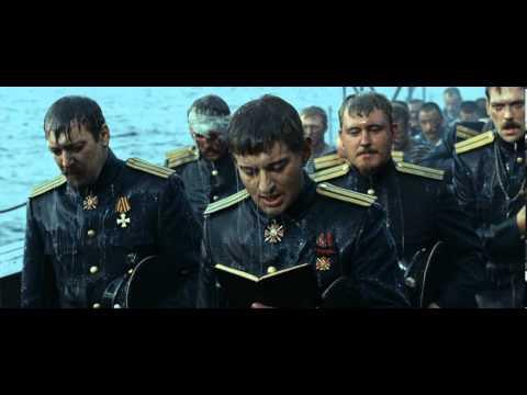 """Молитва А.Колчака перед боем (сцена из кф.""""Адмиралъ"""", 2008)"""