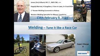 Welding – Tune it like a Race Car