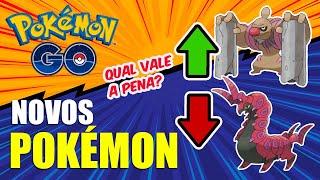 Venipede  - (Pokémon) - NOVOS POKEMON NO JOGO | QUAIS SÃO UTEIS NO META ? | POKEMON GO