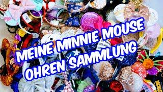 Disney Minnie Maus Ohren Haul April 2020 - Ich zeige euch meine komplette Kollektion!!!