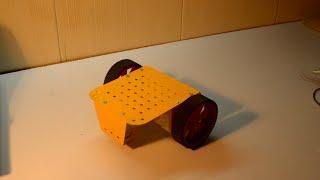 Assembling the Chassis of Vega Robokit