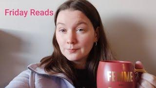 Friday Reads (Books, ACM awards & tea)