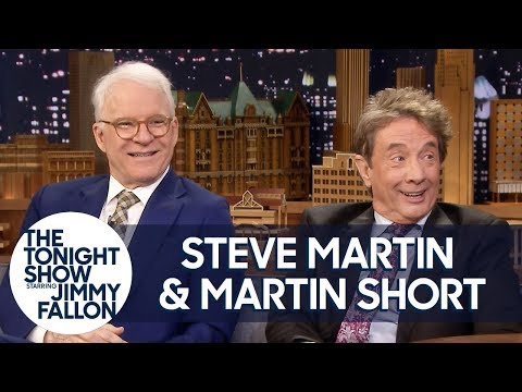 Steve Martin and Martin Short roasting Jimmy Fallon for ten minutes straight on his own show.