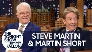 Steve Martin and Martin Short Surprise Jimmy with Their Favorite Tonight Show Moments
