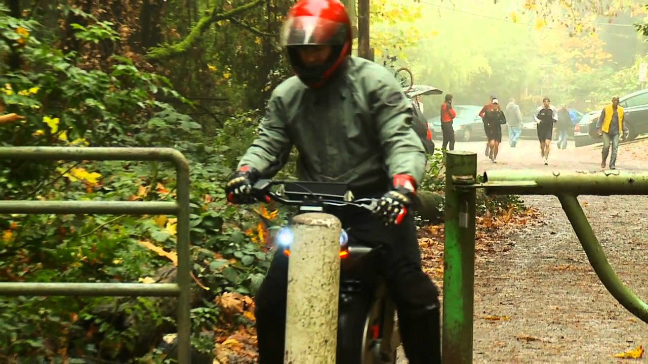 Ryno Bike: Half Segway, Half Unicycle
