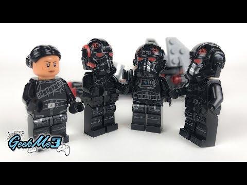 Vidéo LEGO Star Wars 75226 : Pack de combat de l'Escouade Inferno