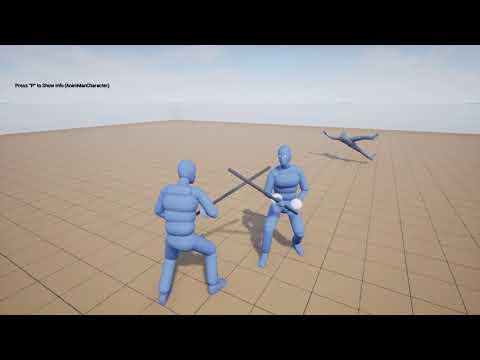 Advanced locomotion v3 and Dynamic Combat System Integration