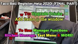 Taco Bell Register Help 2020!(FINAL PART)