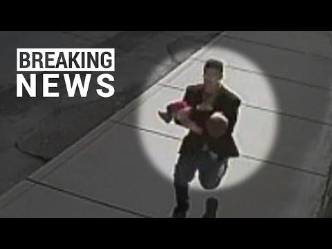 (30.07.2015) Видео кадры похищения ребёнка из Оренбургского детского дома / Child kidnapping video