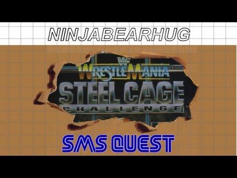 wwf - wrestlemania steel cage challenge sega master system rom