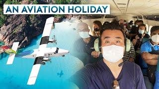 Spectacular Scenic Flight – Island Hopping in Seychelles