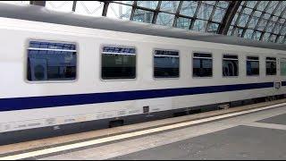 Züge am Hbf Berlin