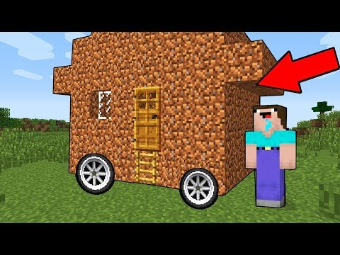 FAKİRİN YENİ TEKERLEKLİ EVİ! - Minecraft Zengin Vs Fakir
