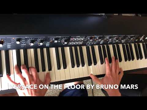 Dustin plays Versace on the Floor by Bruno Mars