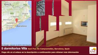 preview picture of video '5 dormitorios Villa se Vende en Sant Fost De Campsentelles, Barcelona, Spain'