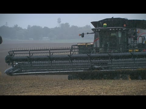 Midwest Rain/Snow Halts Harvest - Tinder Dry in South and West