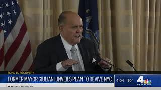 How Former NYC Mayor Rudy Giuliani Says He Would Fix New York City | NBC New York I-Team