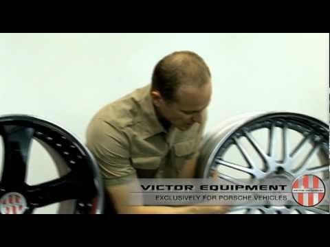 Custom Porsche Wheels by Victor Equipment