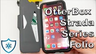 iPhone Xr | OtterBox Strada Series Folio Shadow Black Case Review