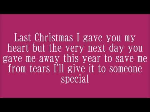 wham last christmas lyrics - Wham Last Christmas Lyrics