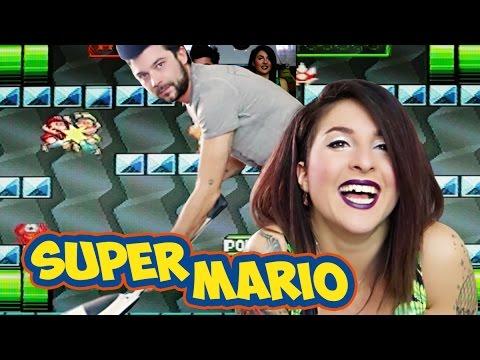 GAMEPLAY SUPER MARIO - CHI PERDE PAGA
