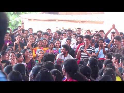 Neeraj Madhav's  Dance  at College of Engineering Chengannur - UTSAV15