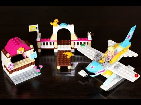 Vidéo LEGO Friends 3063 : Le club d'aviation de Heartlake City